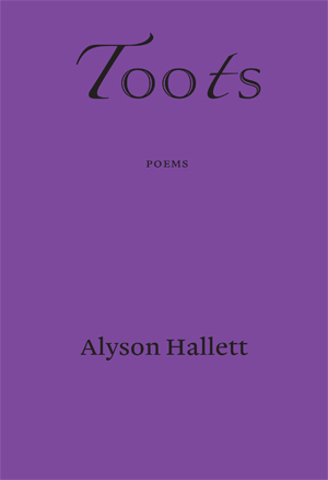 Purple cover with black lettering, 'Toots' quite big