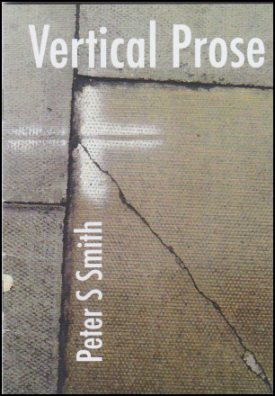 A6 cover. Background is probably paving stones, a big cracked one occupying about two thirds of the jacket and placed bottom right. Then others across the side and top, with joins. The title is in large white lower case letters on the top slice of paving. The author's name runs vertically up the line of the paving stone maybe a third in from the left hand margin. There is some kind of white pain marking on the paving too, a sort of cross -- straight up and straight across -- between heading and name. This is some of the 'Urban Art' referred to on the back jacket.