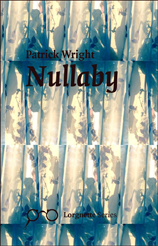 The overall impression of colour on the cover is greenish. There is a backing which is three bands of ruched curtain, like three slices of separate photograph, slightly out of line with each other. The lettering is black. First lower case the author's name, quite small about two inches down and left justified. Then the title of the collection in very much larger lowercase. At the bottom the lorgnette logo for this series, and the name of the series very small. The effect of the whole is definitely brooding and uncertain. Not in the least bit pretty.