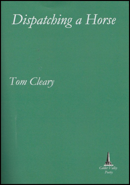 The jacket is a very dark green. The title and author's name are both left justified in a white italic font. The title is largest in the top two inches of the jacket. The author's name, about a third of that size, is in the middle. The imprint logo is in the bottom right hand corner. There are no graphic images otherwise.