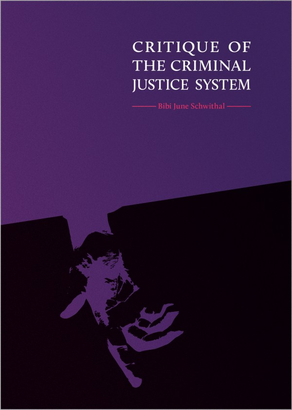 Purple and black cover, with an image of a purple, open hand. Title lettering in white caps top right hand corner