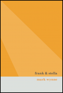 Orange two tone cover with grey band across bottom. Title black out of orange; author name, orange out of grey