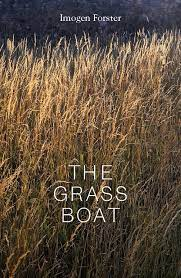 Photo of long grass fills the cover with white lettering ontop